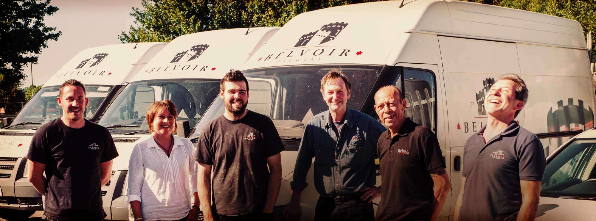 Belvoir Brewery Team