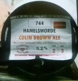 Colin Brown Ale