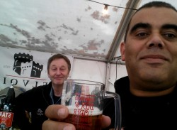 Colin Brown Belvoir Brewery meets Colin Brown