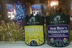 Good Elf & New Beer's Resolution Pump Clips