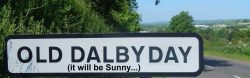 Dalby Day road sign final