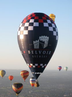 Belvoir Brewery Balloon