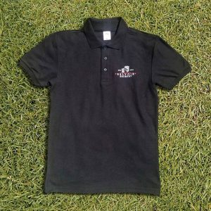 Belvoir Brewery Black Polo Shirt