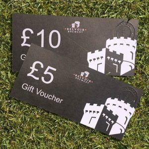 Belvoir Brewery Gift Vouchers