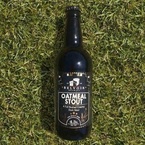 Oatmeal Stout - A full bodied creamy dark stout