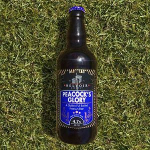 Peacocks Glory - A Golden Full Bodied Premium Beer